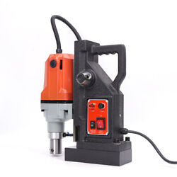 2700lbs Md40 Magnetic Drill Press 1-1/2 Boring Magnet Force