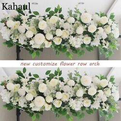 Backdrop Wall Decoration Artificial Flowers Rose Typed Garland String Styles New