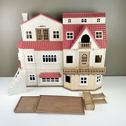 Epoch Calico Critters Red Roof Country Home And Cozy Cottage