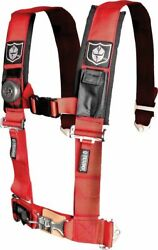 5 Point Seat Harness For Arctic Cat Prowler 650 Xt 4x4 Auto M4 2008 3 Pad Red