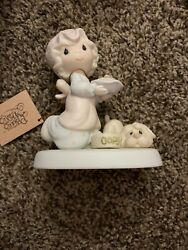 Precious Moments 1982 Dropping Over For Christmas E 2375 $4.50