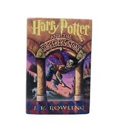 Harry Potter And The Sorcererand039s Stone Hardcover Book W/ Dust Jacket Cover