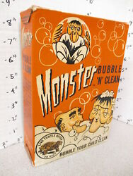 Frankenstein Universal Monster 1960s Bubble Bath Box Vintage Briefer Comic Book