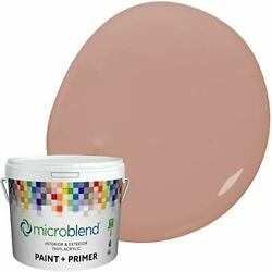 Microblend Exterior Paint And Primer - Mauve/hawthorne Rose Flat Sheen 2-gall...