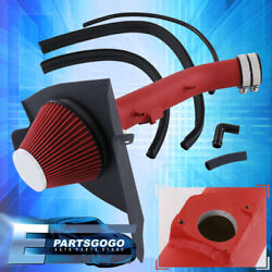 For 99-04 Tacoma 99-02 4runner V6 Cold Air Intake Induction + Heat Shield Red