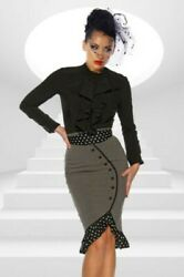 Pencil - Skirt With Belt From Chicstar Rachel Young