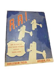 Rai Army Air Force 53rd Flying Training Detachment Promotional Booklet 1943