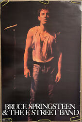 Original Vintage Poster Bruce Springsteen And E Street Band 1985 Music Promo Ad