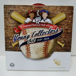 2014-d Us Mint Baseball Hall Of Fame Young Collector Unc Half Dollar Coin Mg