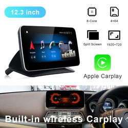 12.3 Android Car Gps Radio Stereo Player Navigation For Benz E Class 13-15 Rhd