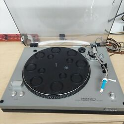 Vintage Sony Ps-3300 Direct Drive Stereo Turntable System