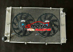 5 Row Aluminum Radiator + Fan For Porsche Coupe 928 With 2 Oil Coolers