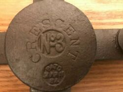 Cresent 3 Sargent Newhouse Oneida Mar 11 1884 Very Rare Vintage Antique Trap