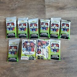 Lot Of 10 2020-21 Panini Prizm English Premier League Soccer Blaster And Fat Packs