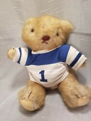 Vintage 1984 Jointed Gorham Olympus Octobear Bear Of The Month, 12in Tall