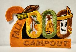 Ymca/ywca Indian Program Fall Campout 2000 Sew On Patch New