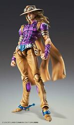 P Jojoand039s Bizarre Adventure Super Action Statue Figure 7th Part Gyro Zeppeli 1.5