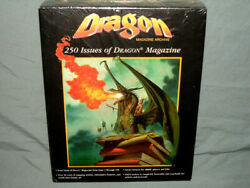 Tsr Adandd Cd-rom - Dragon Magazine Archive Very Rare In The Shrink Wrap And Nm