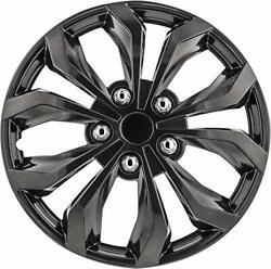 Pilot Automotive Wh555-17gm-b 17 Inch 17 Universal Fit Spyder Wheel Cover | ...