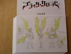 Black Clover Setting Material Production Material Japan Anime 820 Sheets