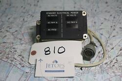 Pacific Systems Standby Electrical Power Indicator P/n 1159scf417-3