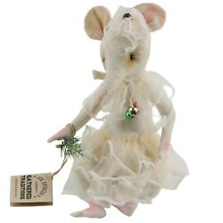 Joe Spencer Maisie Mouse Doll Gathered Traditions
