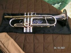 Adams Custom A4 Trumpet With Silver Bell