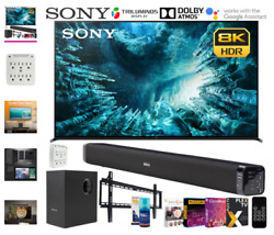 Sony Xbr75z8h 75-inch Z8h 8k Full Array Led Smart Tv 2020