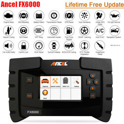 Ancel Fx6000 All Systems Scanner Auto Abs Sas Tpms Epb Immo Diagnostic Obd2 Tool