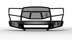 Ranch Hand Mft14hbm1 Midnight Series Front Bumper Fits 14-21 Tundra