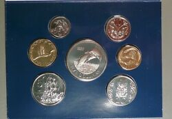 2002 New Zealand Uncirculated Set Looks Proof 7 Coin Set Low Mint 3000 Pcand039s