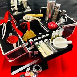 Modern Witch On-the-go Travel Altar Kit Baby Witch Broom Closet Complete Set