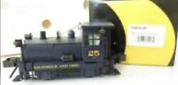 ✅k-line By Lionel Baltimore And Ohio Plymouth Switcher Diesel Engine O Gauge Bando