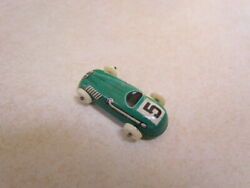 Vintage 1950's U.s. Zone Germany Tin Lithograph Small Race Car 5 Green
