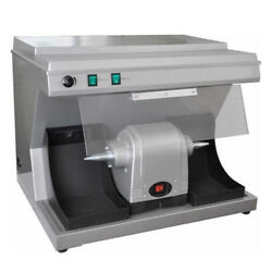 Dental Lab Polishing Polisher Lathe Unit Vacuum Built-in Suction Dust Collector