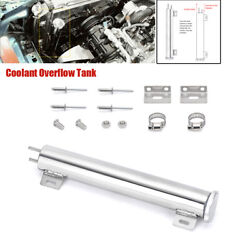 Auto Stainless Polishing Modified Tank Car Radiator Catch Can Cooling Bottle