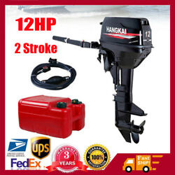 2 Stroke 12.0hp Outboard Motor Fishing Boat Engine W/ Cdi Water Cooling System