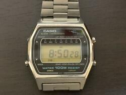Casio W-550 81 Vintage Rare Very Cool Men's Watch With Marlin Top
