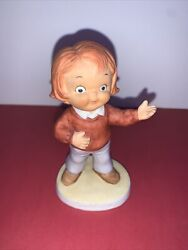 Campbell Kids Figurines 1982 Souper Kid Limited Edition