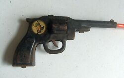 Vintage 1930s Dick Tracey Tin Toy Clicker Pistol