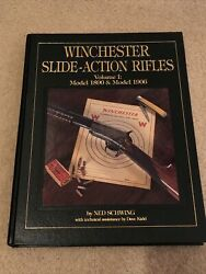Winchester Slide-action Rifles Volume I 1890 And 1906 1st Edition By Ned Schwing