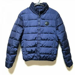 Down Jacket 46 Women And039s Navy Long Sleeves Zipup Winter No.2061