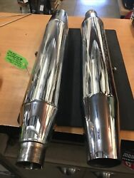 Harley Davidson Oem Front And Rear Mufflers 64941-01