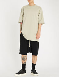 Rick Owens Rick's Pods Relaxed-fit Dropped-crotch Woven Shorts Uk 40/it 50/us 40