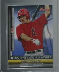2011 Bowman Bowmanand039s Brightest Mike Trout Bbr6 Rookie