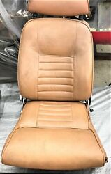 Used Oem . 1971 Volvo P1800e Reclining Front And Rear Seats And Door Panels  K163