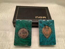 Vintage Lord Nor Deck Playing Card Set In Case Northbrook Sealed Pinochle