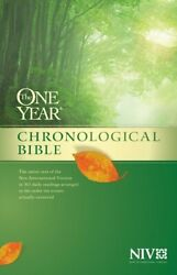 The One Year Chronological Bible New International Version Tyndale