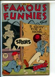 Famous Funnies 141 1946- Invisible Scarlet Oand039neil- Buck Rogers-dickie Dare-s...