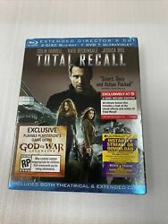 Total Recall Blu Ray/dvd 4 Disc Target Exclusive/rare Oop Slipcover